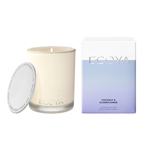 ECOYA MADISON CANDLE - COCONUT AND ELDERFLOWER