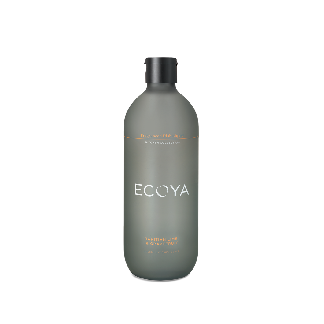 ECOYA FRAGRANCED DISH SOAP - TAHITIAN LIME AND GRAPEFRUIT