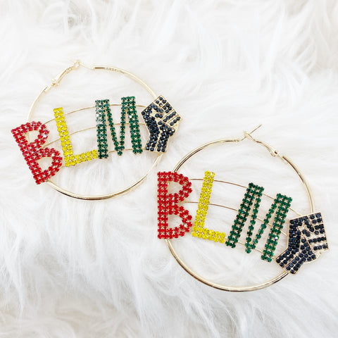 Black Lives Matter (BLM) Earrings-various styles