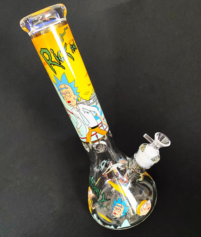 Rick and Morty Uh-Oh Trouble Water Pipe