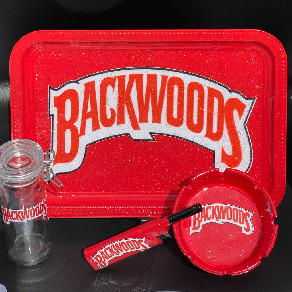 Backwoods Rolling Tray Set