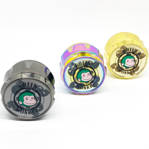 Green Monkey Titanium Grinder 63mm-Baboon Crown Series