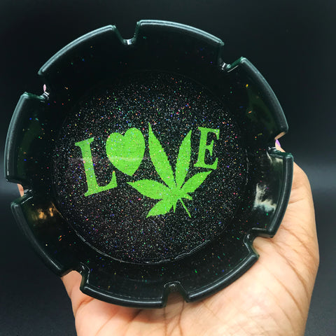 LOVE ashtray