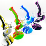 8'' Round Silicone Ball Bubbler Water Pipe