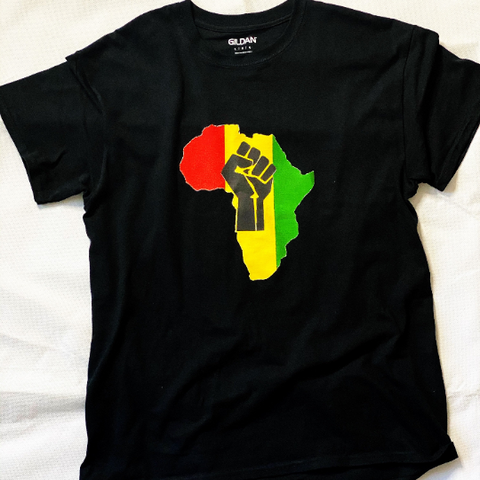 Black Pride Fist Tee