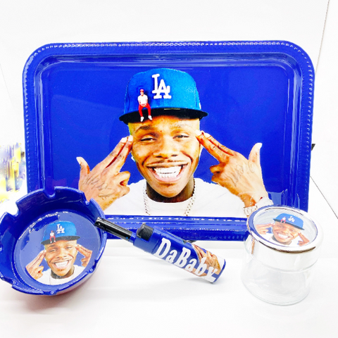 DaBaby Rolling Tray Set