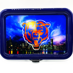 Chicago Bears Rolling Tray Set