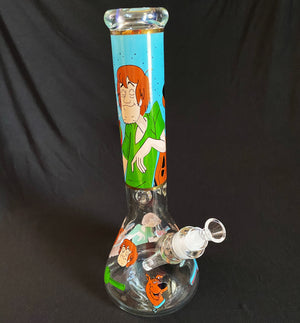 Scooby Doo and Shaggy Bong Water Pipe- 14''