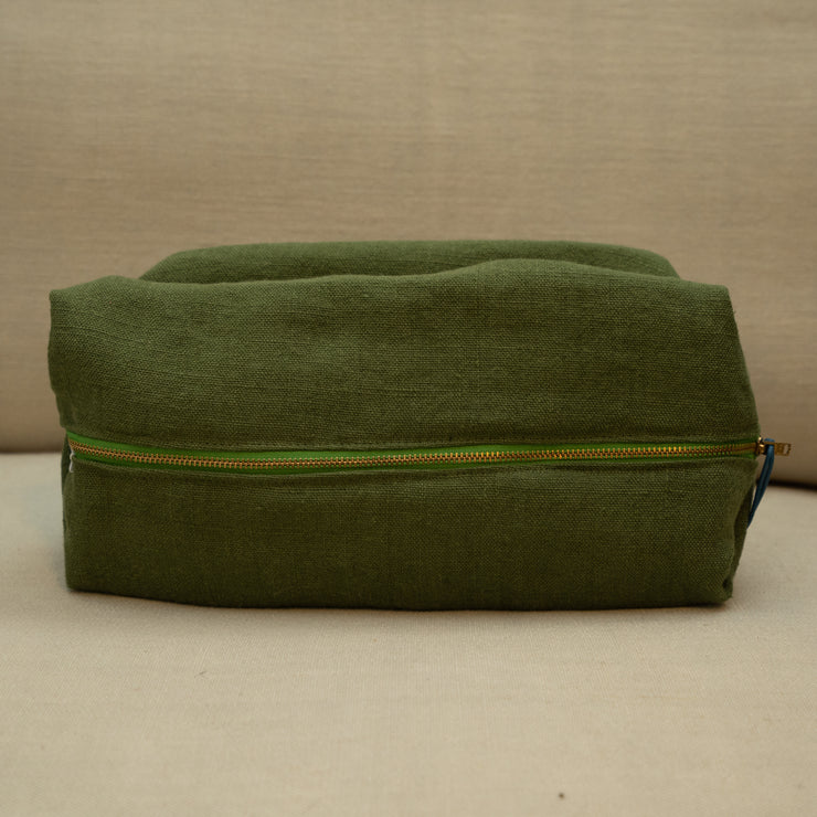 Designers Guild Brera Lino Leaf Wash Bag