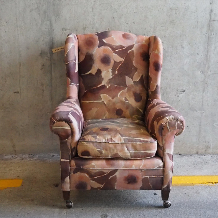 Wing Armchair with Designers Guild