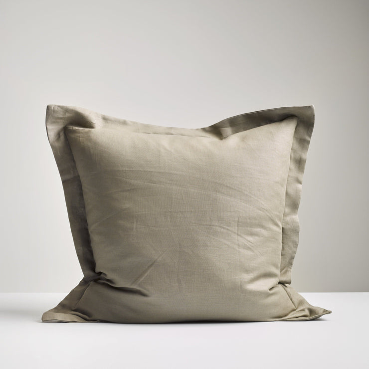 OLIVE EUROPEAN PILLOWCASE