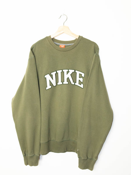 Vintage Nike sweater spell out logo size: XL