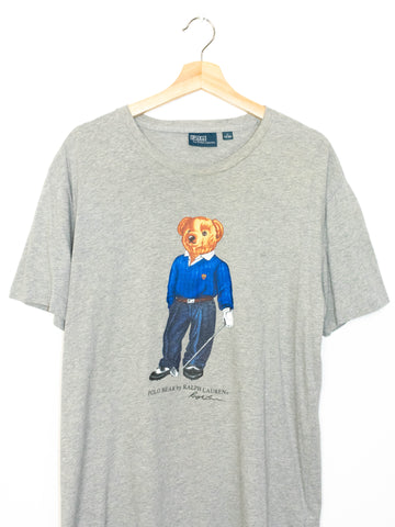 Vintage Polo Bear T-shirt Size: M