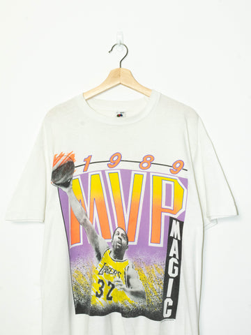 Vintage 1989 Magic Johnson MVP T-Shirt size: M