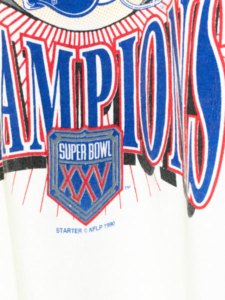 Vintage Super Bowl T-shirt 1990'  size: L