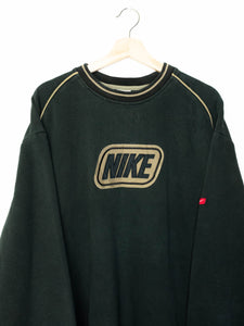 Vintage Nike sweater spell out logo size: XXL