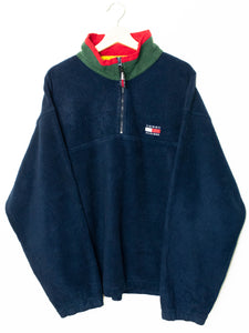 Vintage Tommy Hilfiger sweater 1/4 Zip size: XL