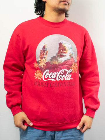 Vintage Coca Cola Sweater Made in USA Size: L