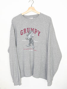 Vintage Disney Grumpy Sweater size: XL