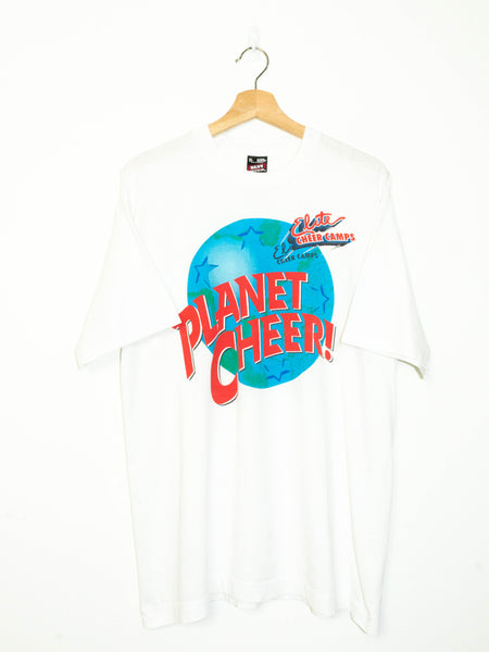 Rare Vintage Planet Hollywood 'Cheer' T-Shirt size: XL