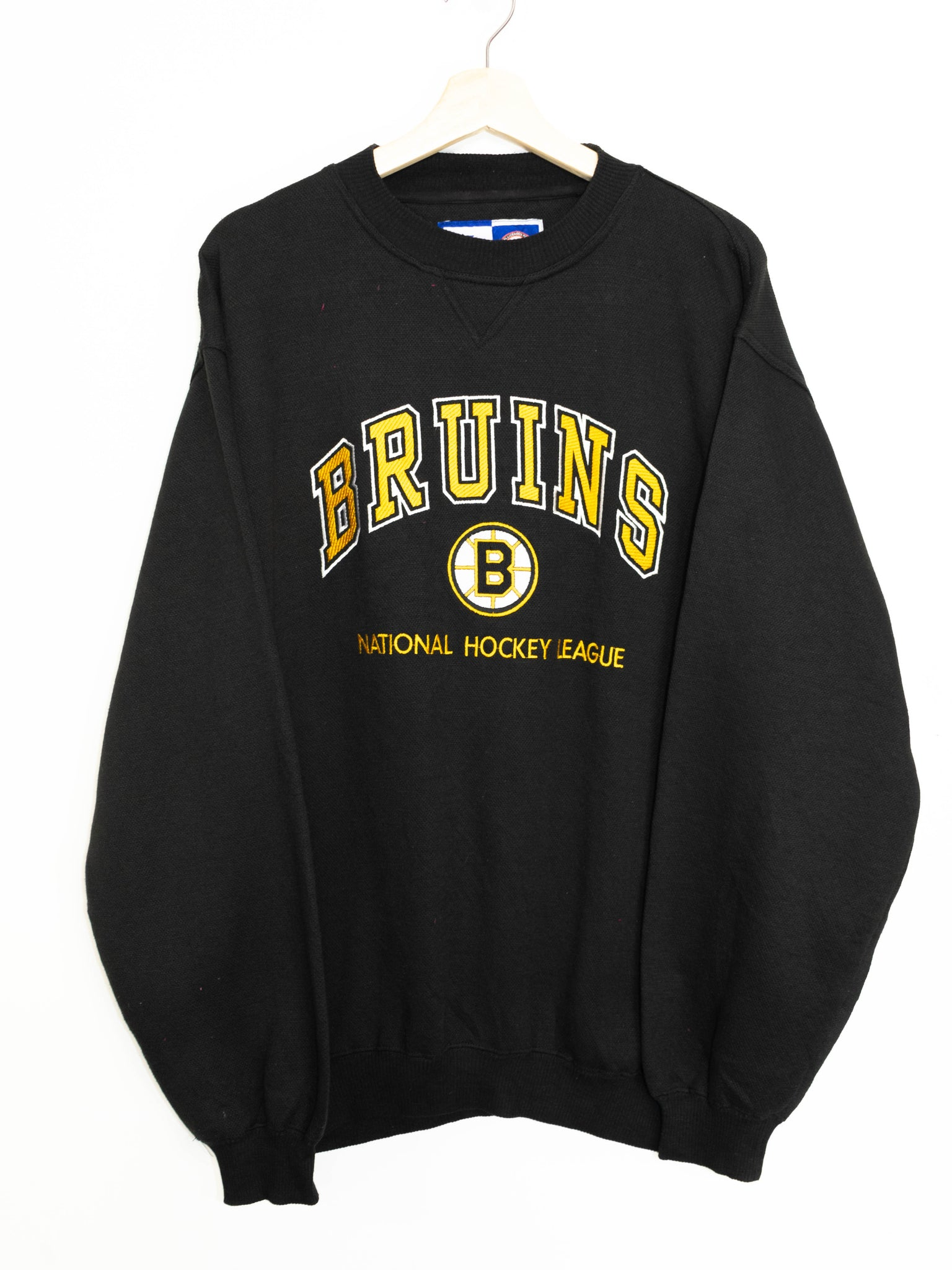 Vintage Bruins Hockey League size: L