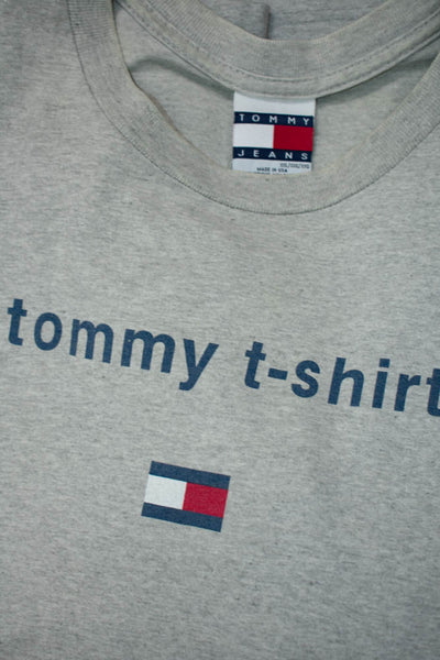 Vintage Tommy T-Shirt Made in USA Size: XXL