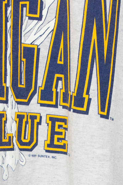 Vintage Michigan T-shirt 1991' size: XL