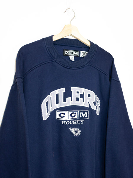 Vintage Oilers Hockey sweater size: L