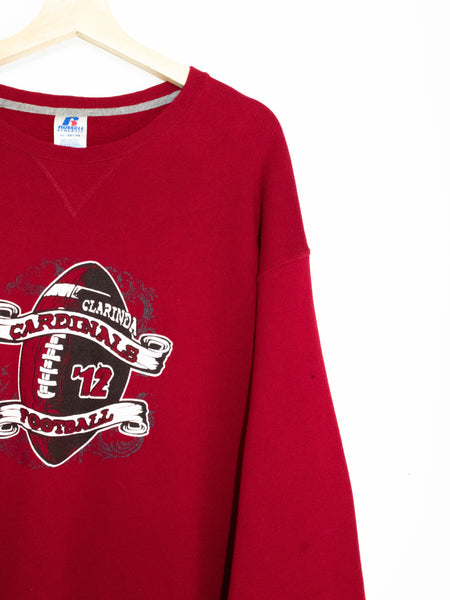 Vintage Cardinals Football sweater size:L