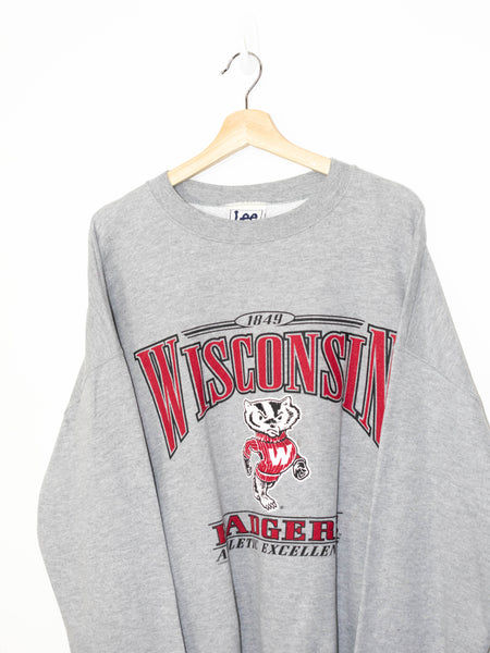 Vintage Wisconsin Badgers sweater size: XL