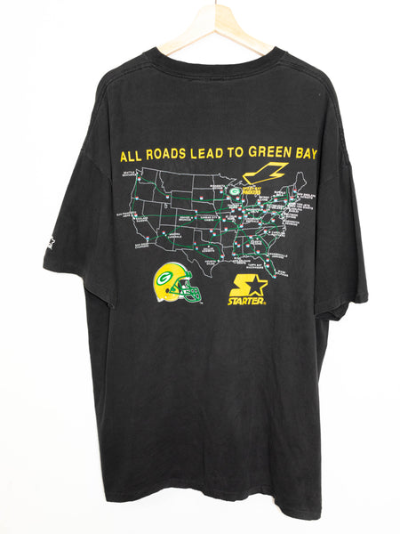 Vintage Green Bay Packers T-shirt size: XL