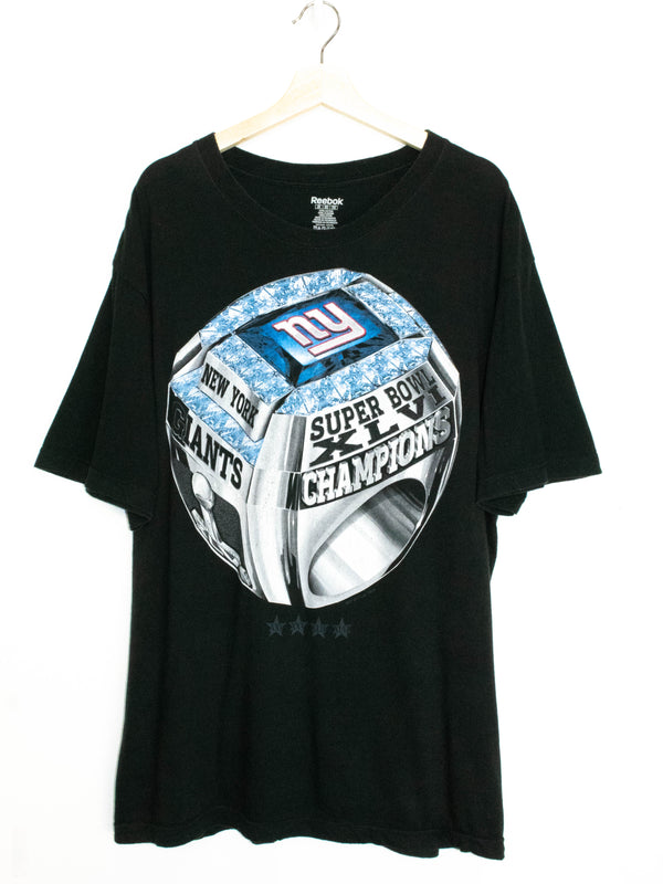 Vintage New York Super Bowl Champion T-shirt Size: XXL
