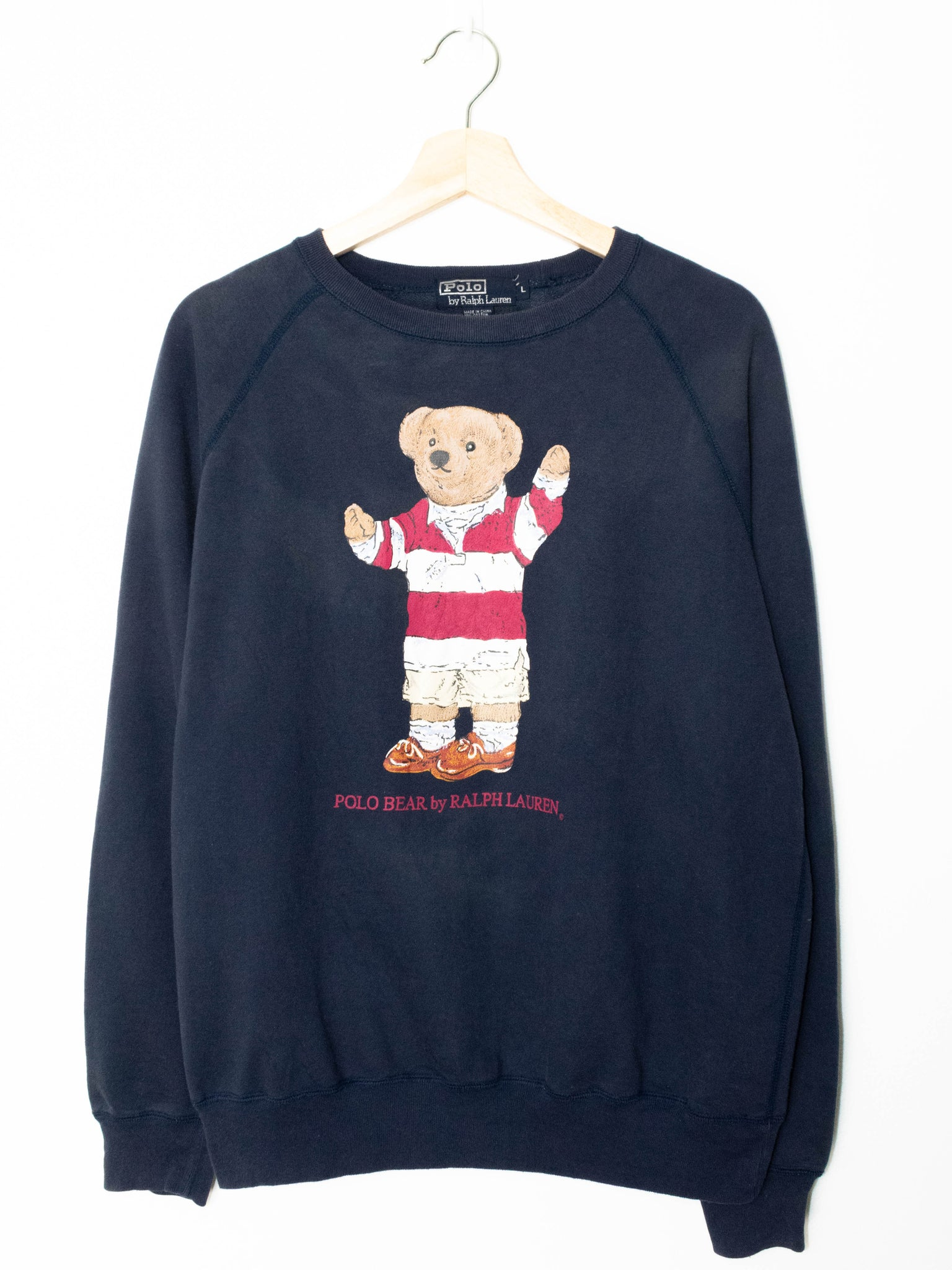 Vintage Polo Bear Ralph Lauren sweater size: M