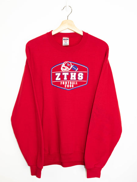 Vintage ZTHS Football 2006 sweater size: M