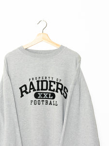 Vintage Raiders NFL sweater size: XL
