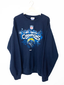 Vintage NFL West Division Champions 2009 Sweater Size XL