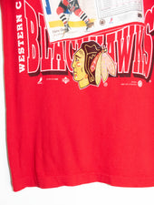 Vintage Chicaco Blackhawks Hockey T-shirt size:M