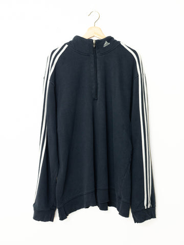 Vintage Adidas sweater 1/4 zip size: 2XL