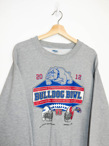 Vintage Bulldog Bowl sweater size: M