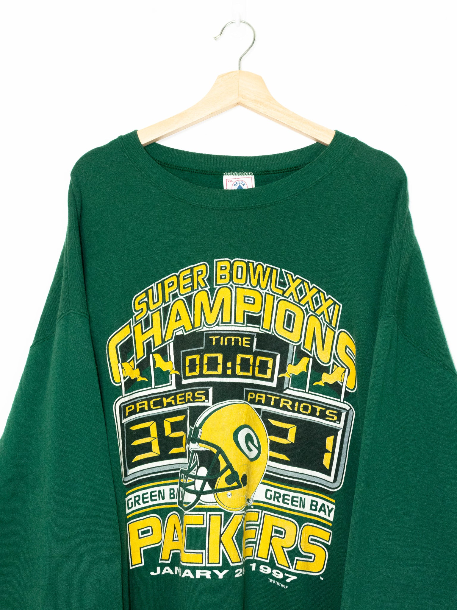 Vintage Green Bay Packers sweater 1997' size: XXL