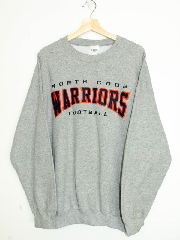 Vintage North Cobb Warriors Football sweater size:XL
