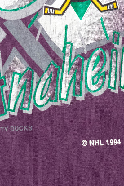 Vintage 1994 Mighty Ducks T-shirt size: XL
