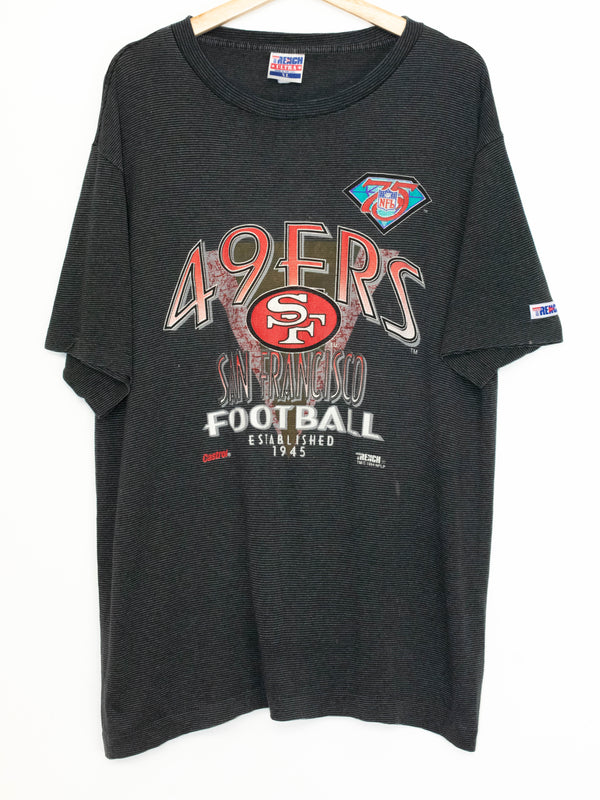 Vintage 49ers T-shirt made in USA size: XL