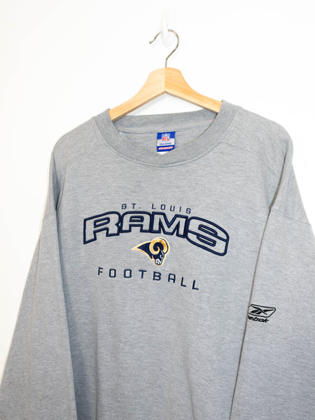 Vintage St Louis Rams Football sweater size: L