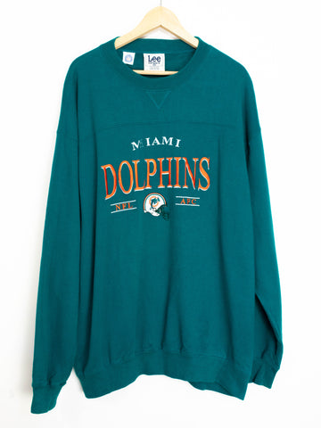 Vintage Miami Dolphins Sweater SIze XL