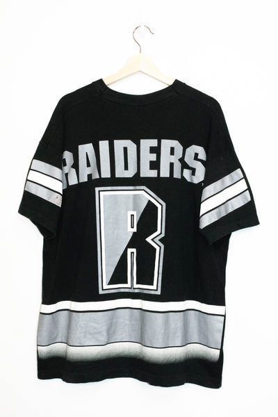 Raiders T-Shirt made in USA Size: XL