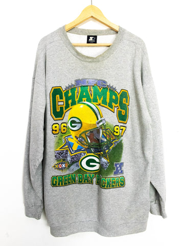 Vintage Green Bay Packers NFC Champs Sweater Size L
