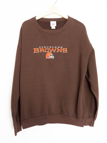 Vintage Cleveland Browns Sweater Size XL