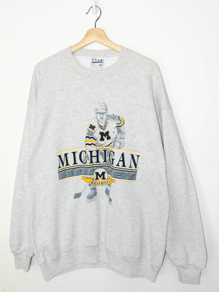 Vintage Michigan Hockey sweater size: XXL
