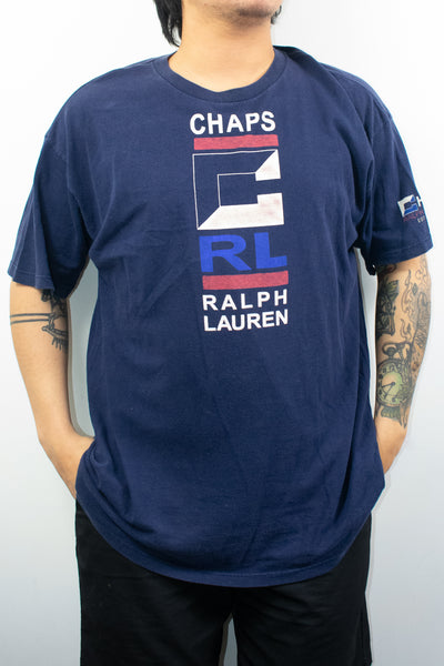Vintage Chaps Ralph Lauren T-Shirt Size: XL  Made in USA